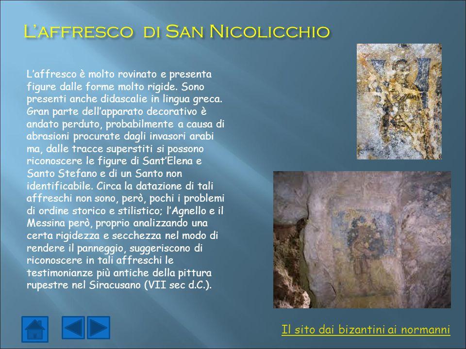 L'affresco di San Nicolicchio