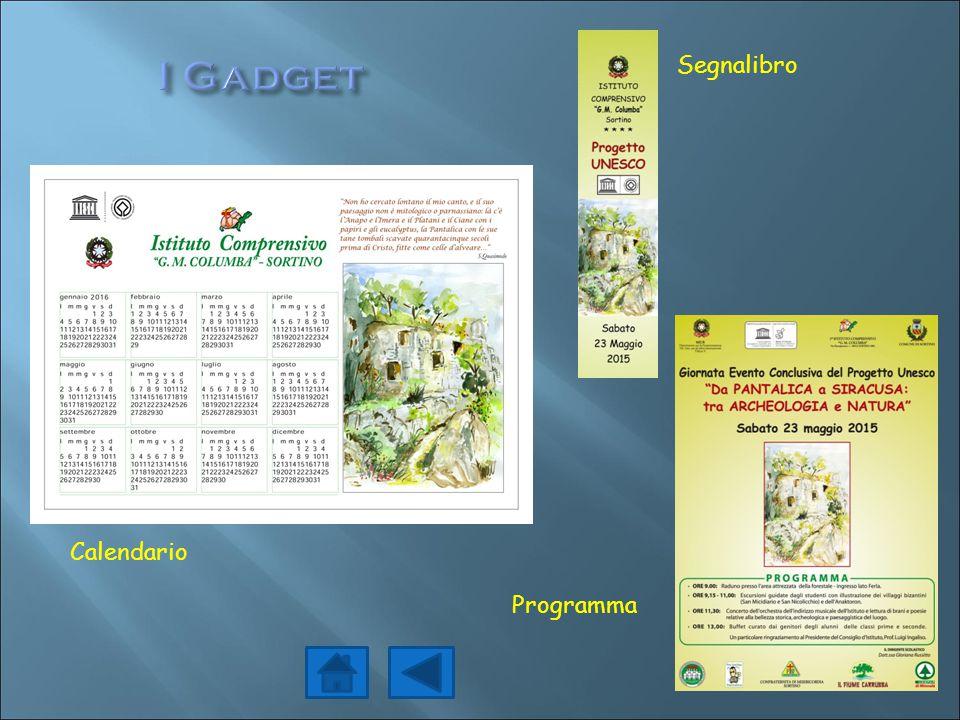 I Gadget Segnalibro Calendario Programma