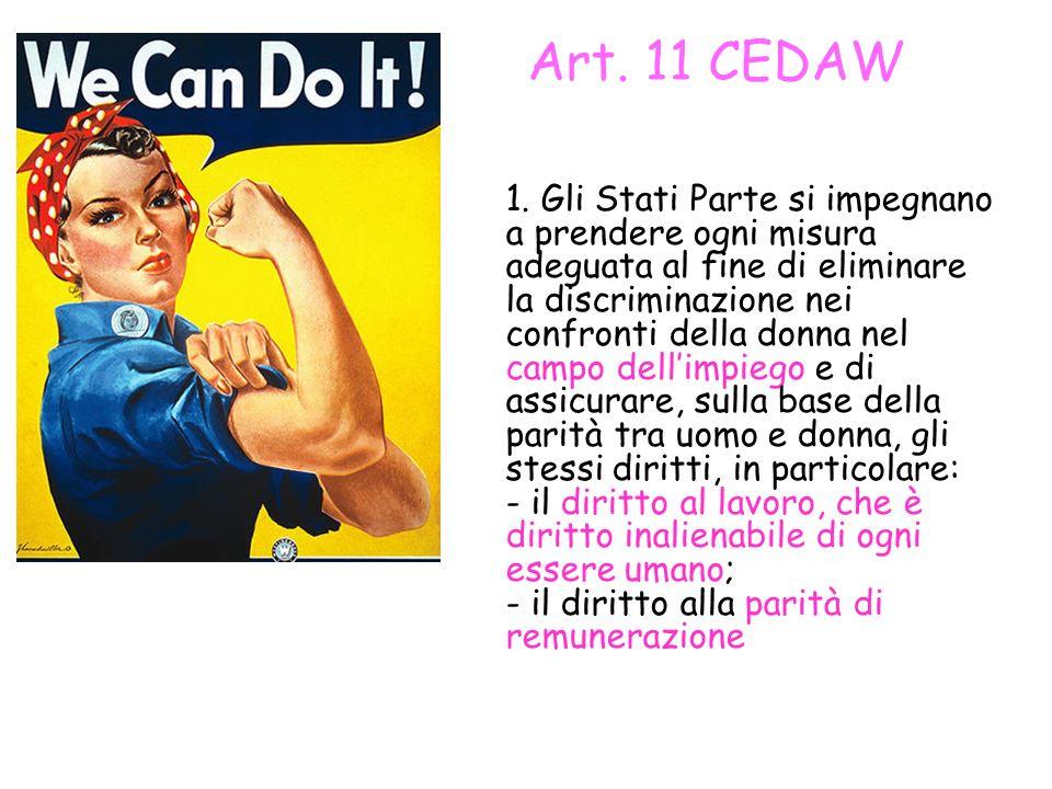 Art. 11 CEDAW