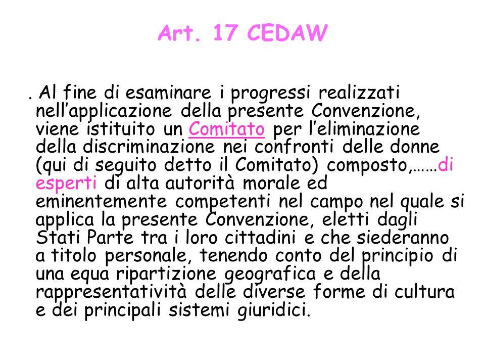 Art. 17 CEDAW