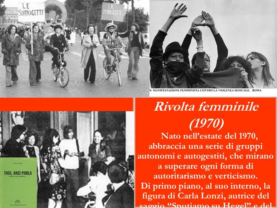 Rivolta femminile (1970)