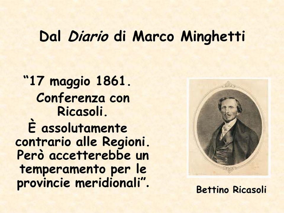 Dal Diario di Marco Minghetti