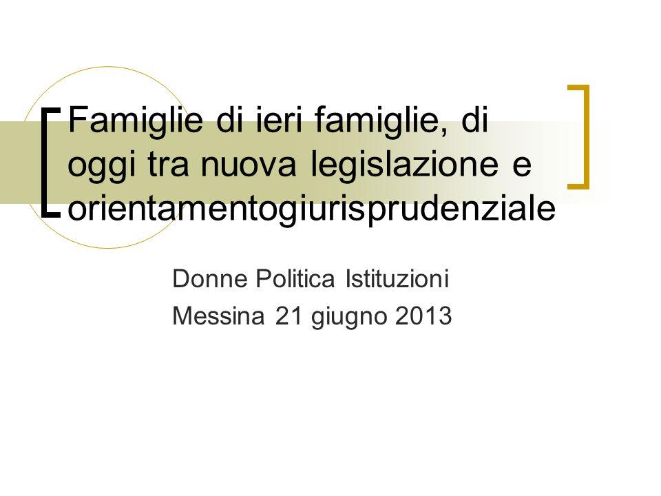 Donne Politica Istituzioni Messina 21 giugno 2013