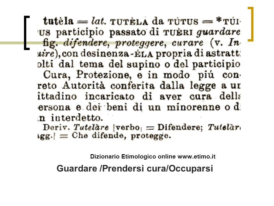 Dizionario Etimologico online www.etimo.it