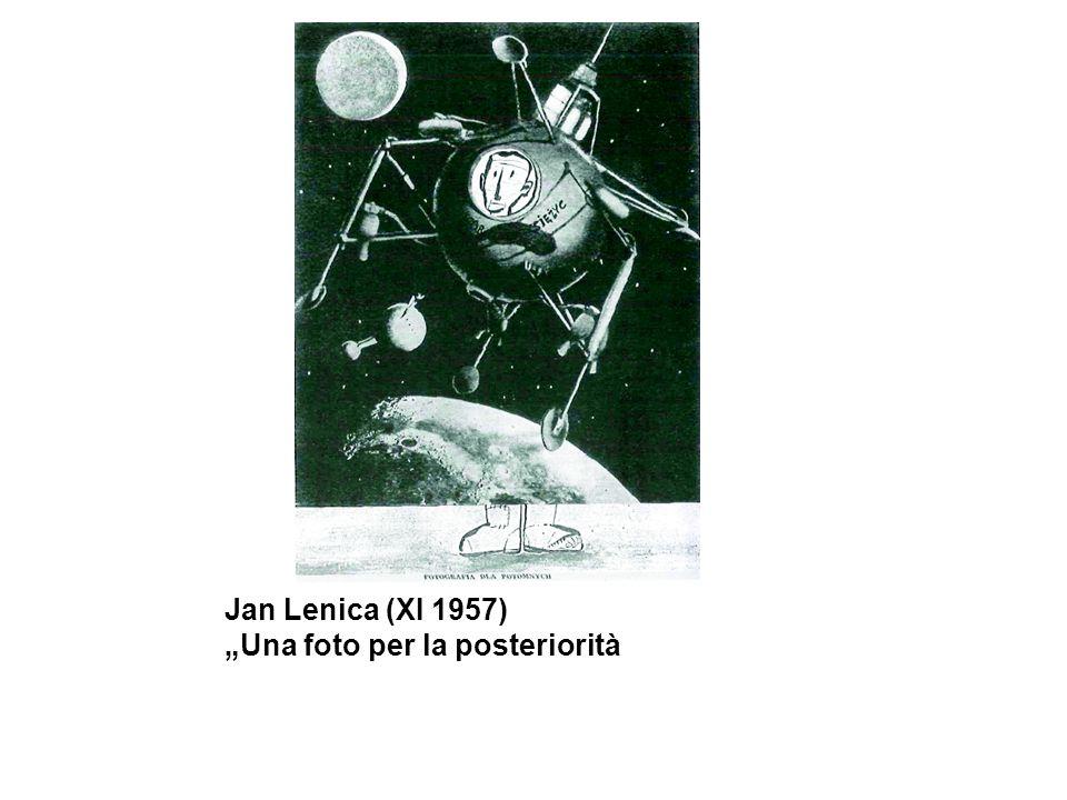 """Jan Lenica (XI 1957) """"Una foto per la posteriorità"""
