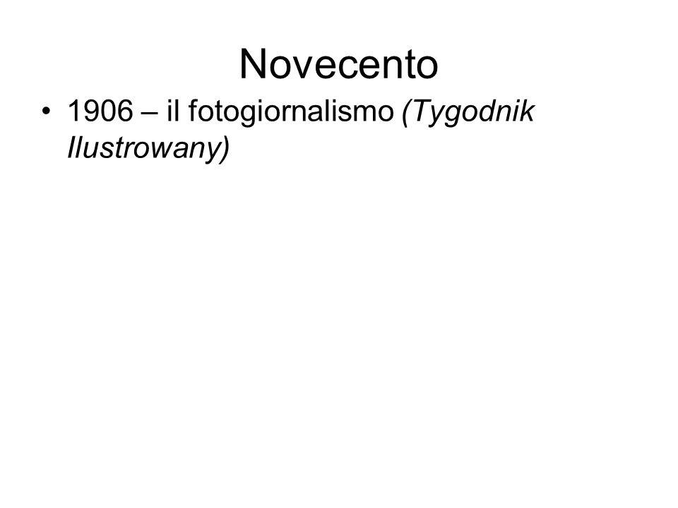 Novecento 1906 – il fotogiornalismo (Tygodnik Ilustrowany)