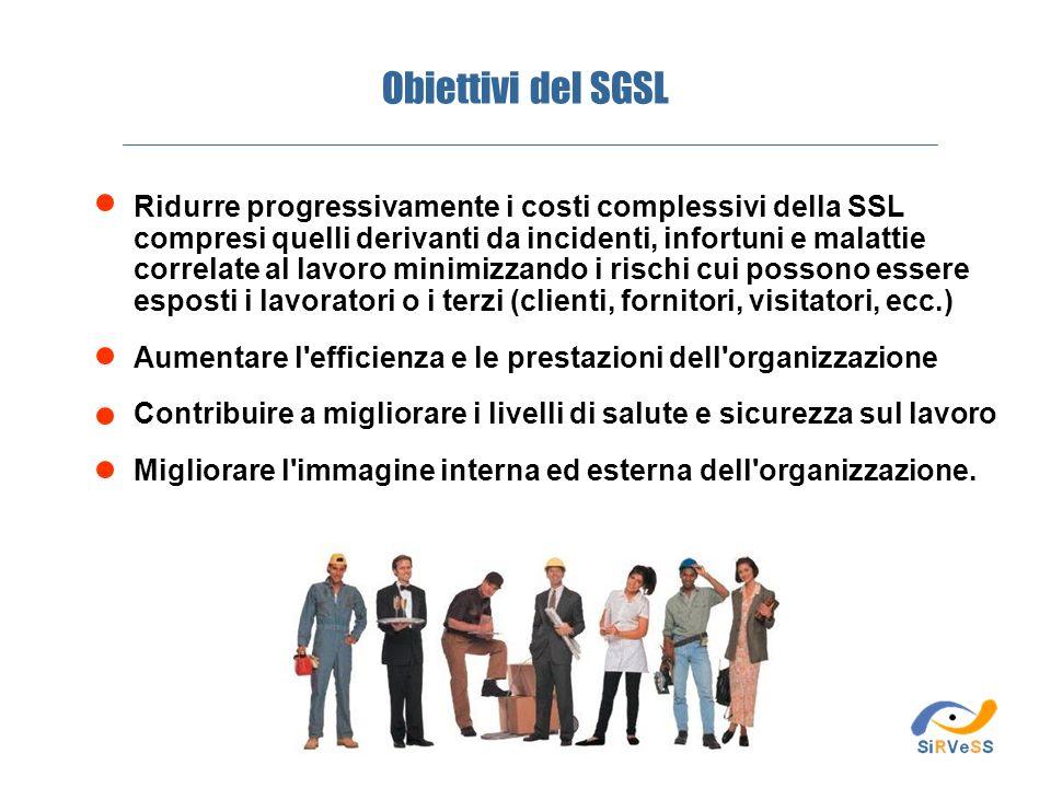 Obiettivi del SGSL
