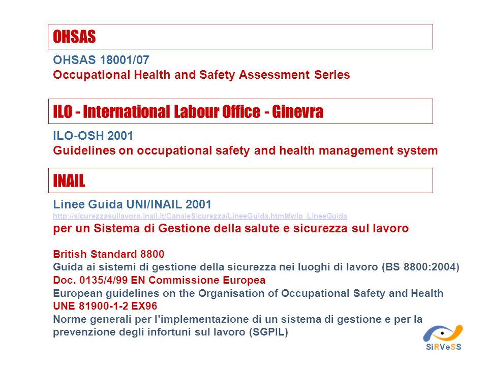 ILO - International Labour Office - Ginevra