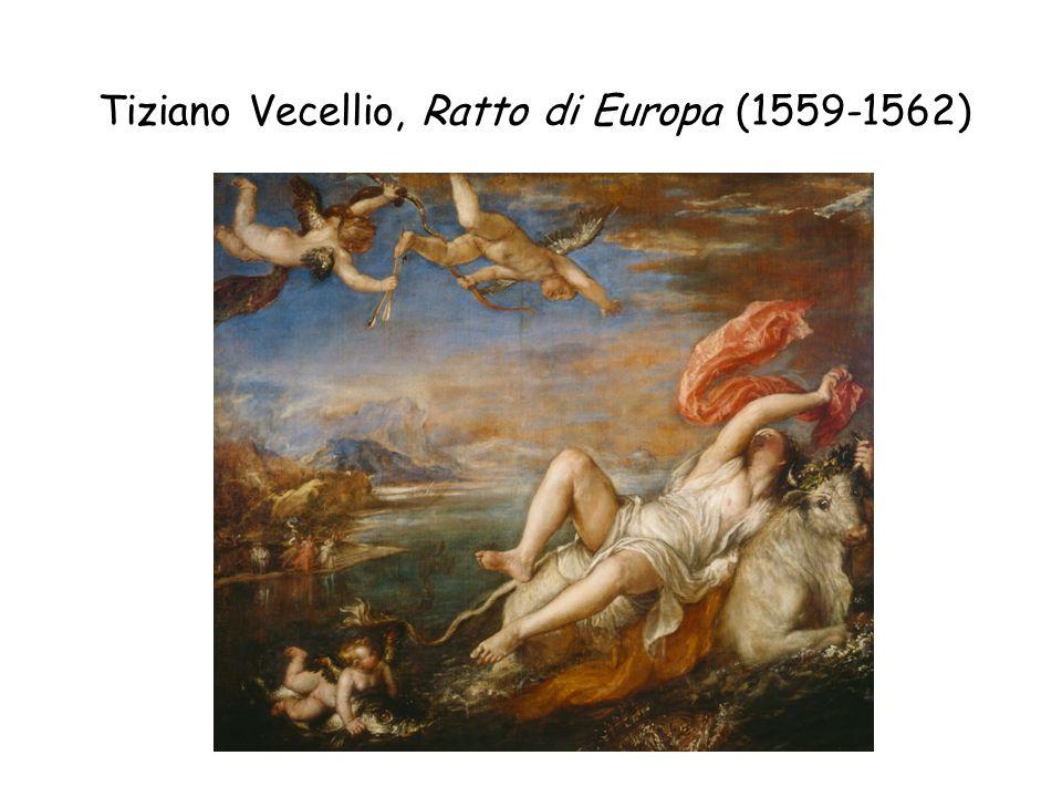 Tiziano Vecellio, Ratto di Europa (1559-1562)