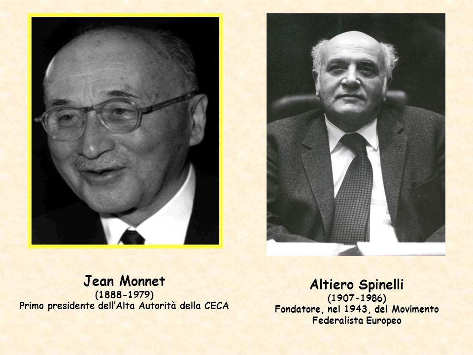 Jean Monnet Altiero Spinelli