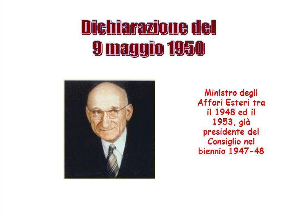 Dichiarazione del 9 maggio 1950