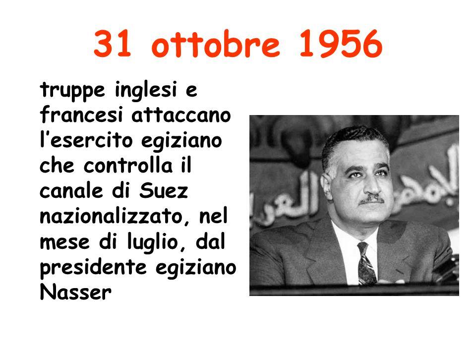 31 ottobre 1956