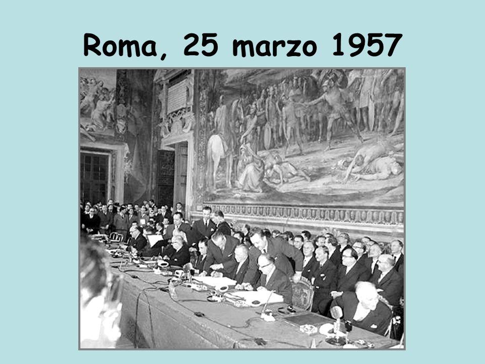 Roma, 25 marzo 1957