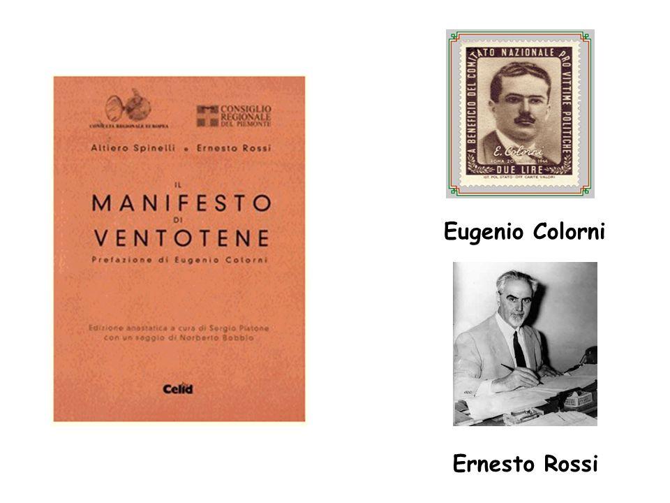 Eugenio Colorni Ernesto Rossi