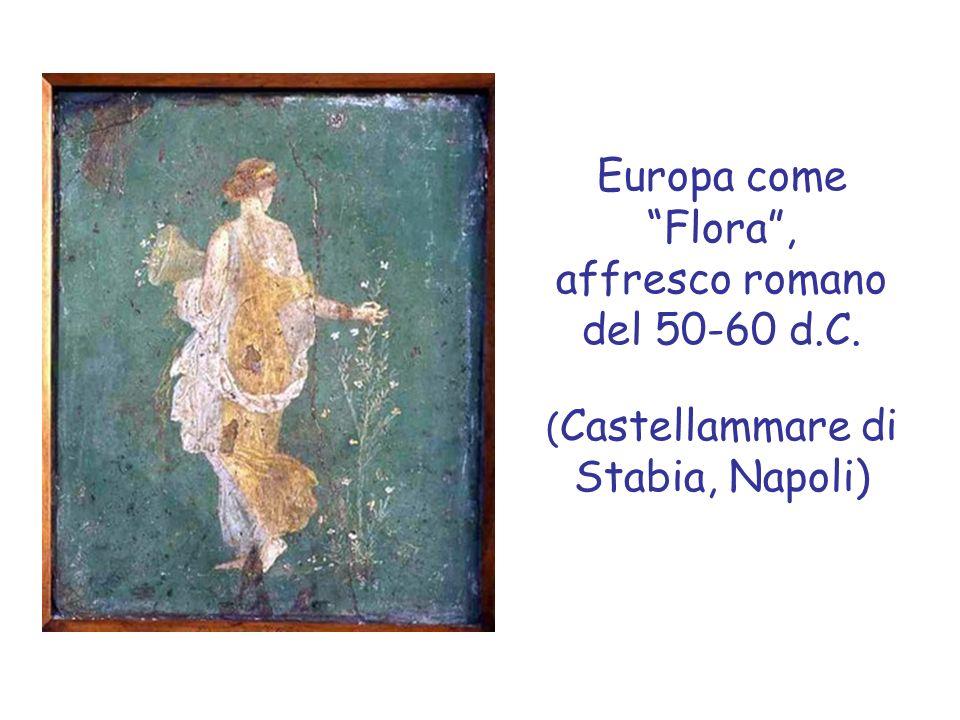 Europa come Flora , affresco romano del 50-60 d. C