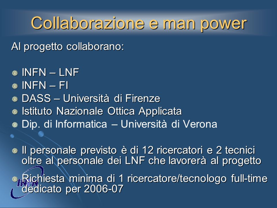 Collaborazione e man power