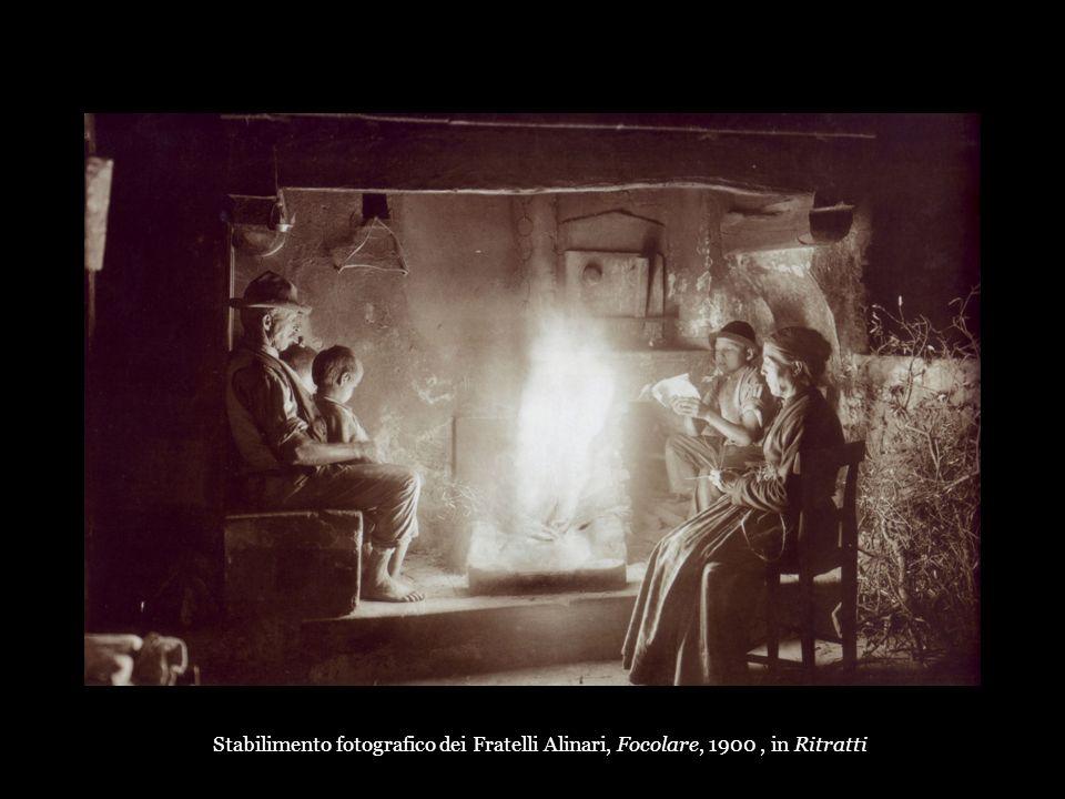 Stabilimento fotografico dei Fratelli Alinari, Focolare, 1900 , in Ritratti