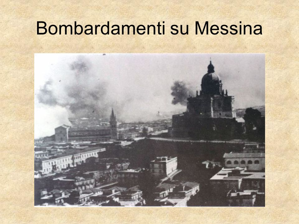 Bombardamenti su Messina