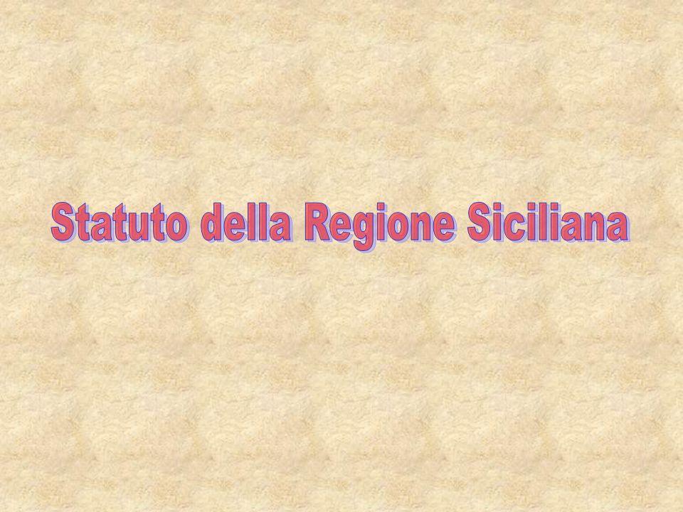 Statuto della Regione Siciliana