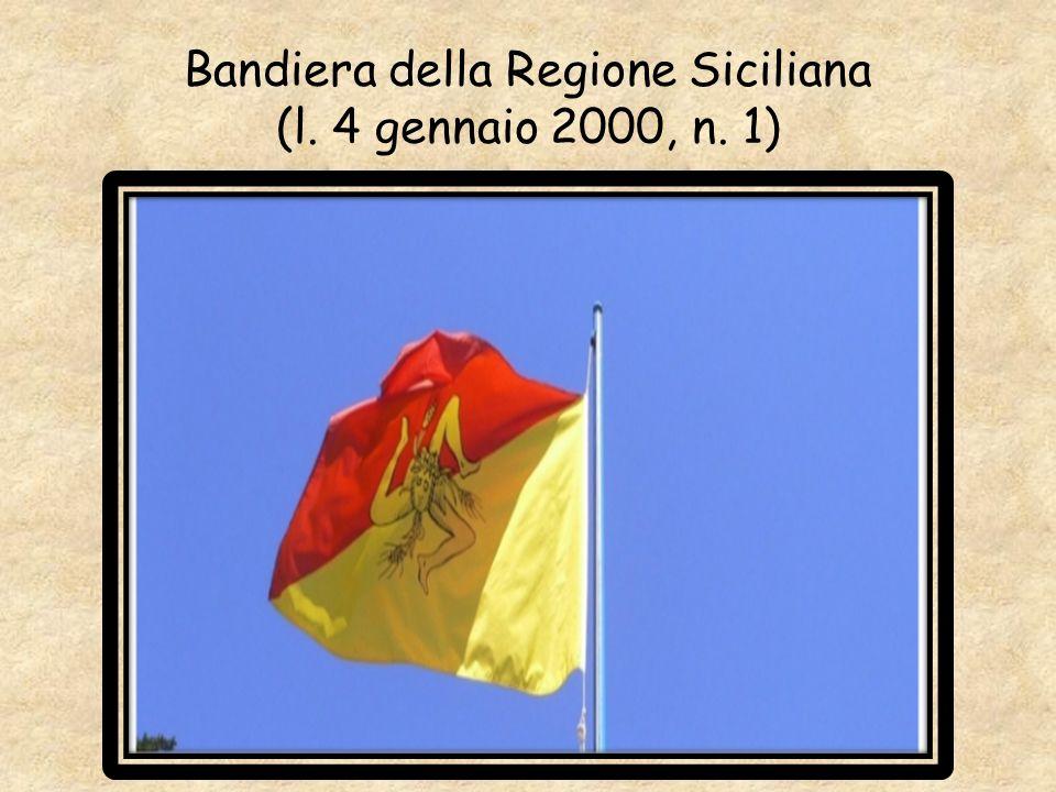 Bandiera della Regione Siciliana (l. 4 gennaio 2000, n. 1)