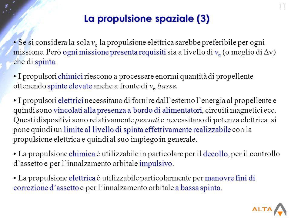 La propulsione spaziale (3)
