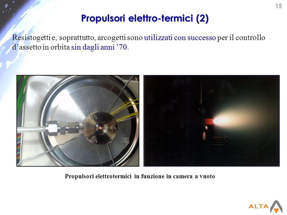 Propulsori elettro-termici (2)