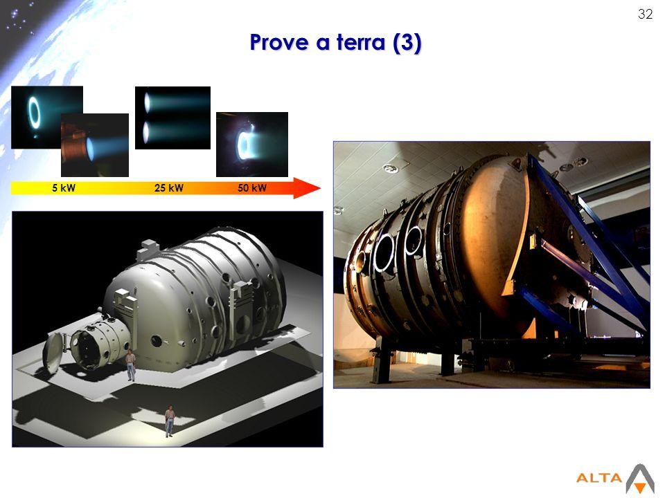 Prove a terra (3) 5 kW 25 kW 50 kW