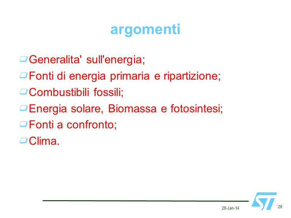 argomenti Generalita sull energia;