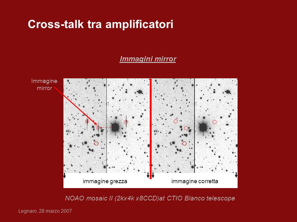 Cross-talk tra amplificatori