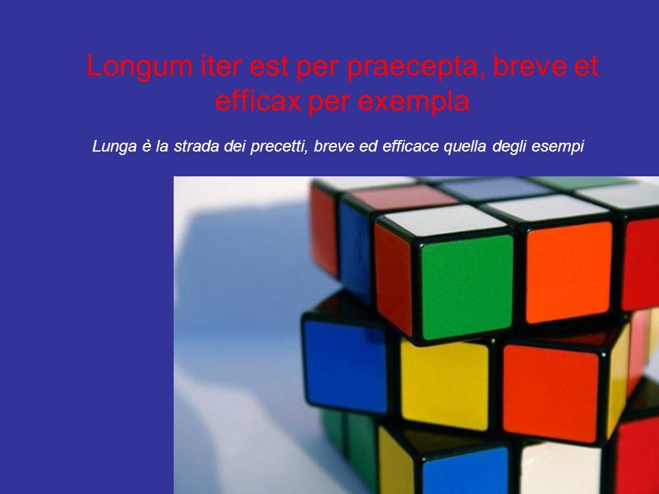Longum iter est per praecepta, breve et efficax per exempla