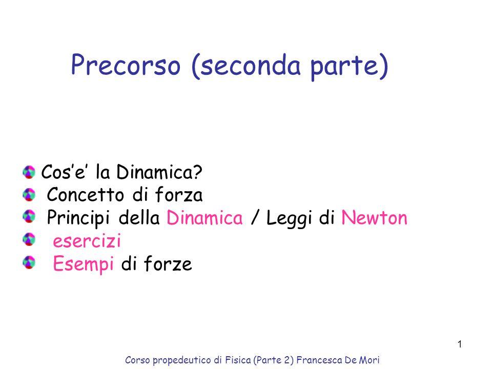 Precorso (seconda parte)