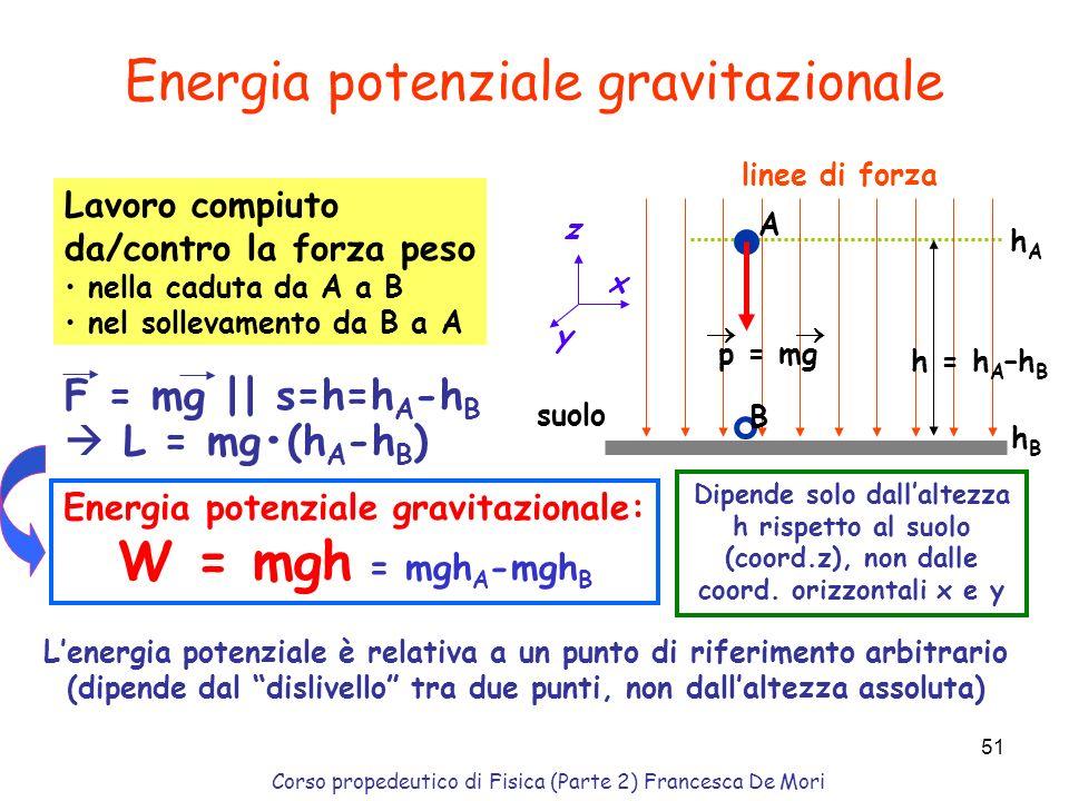 Energia potenziale gravitazionale: