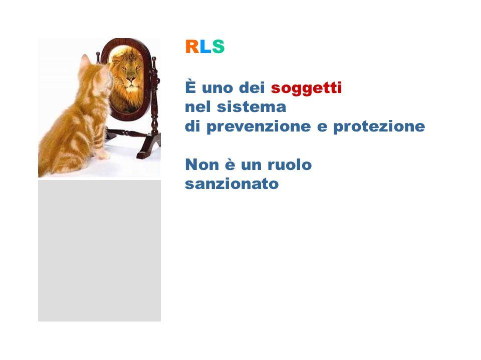 RLS – Soggetto sistema prevenzione