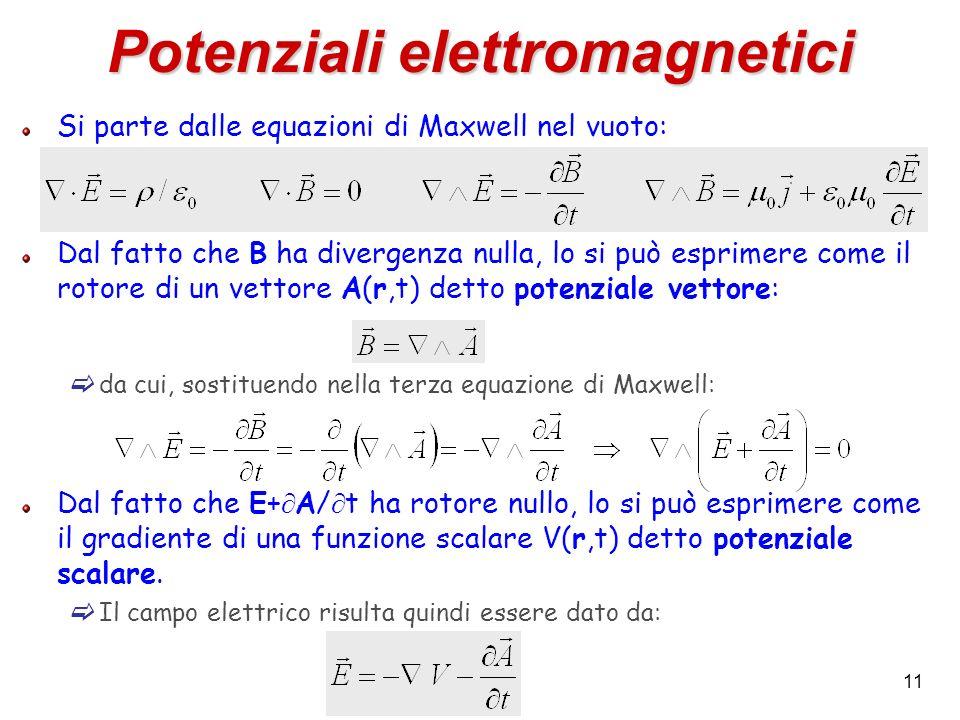 Potenziali elettromagnetici
