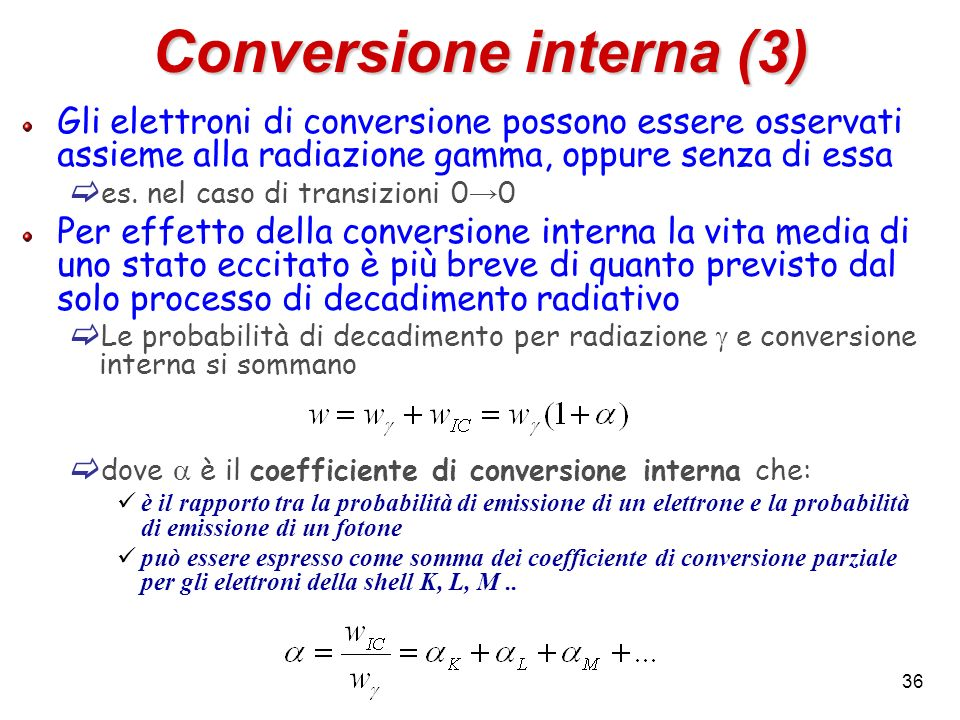 Conversione interna (3)