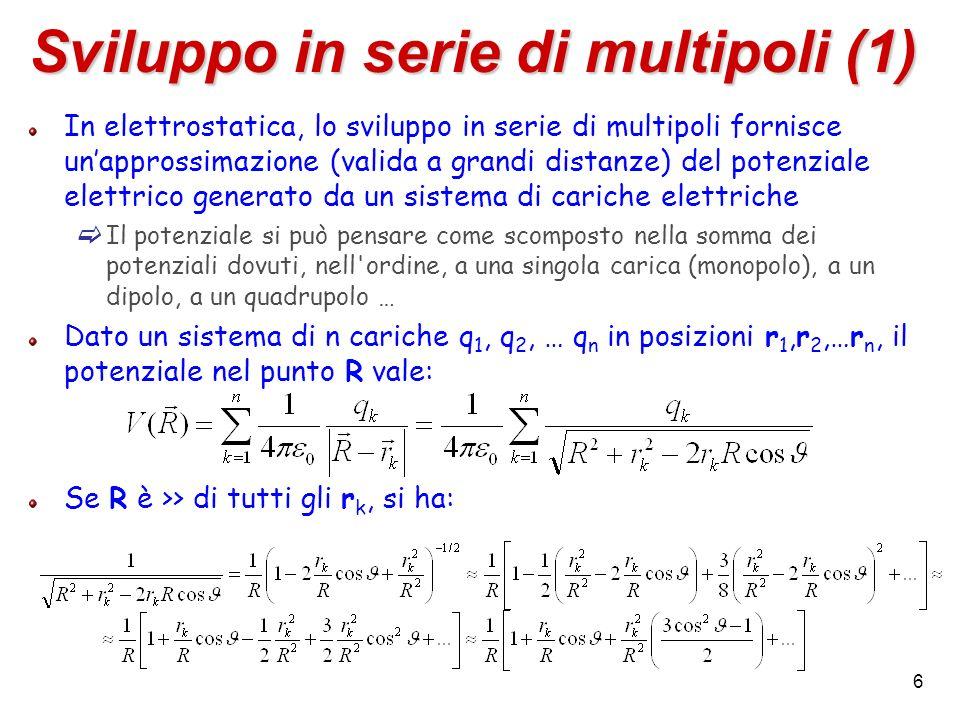 Sviluppo in serie di multipoli (1)