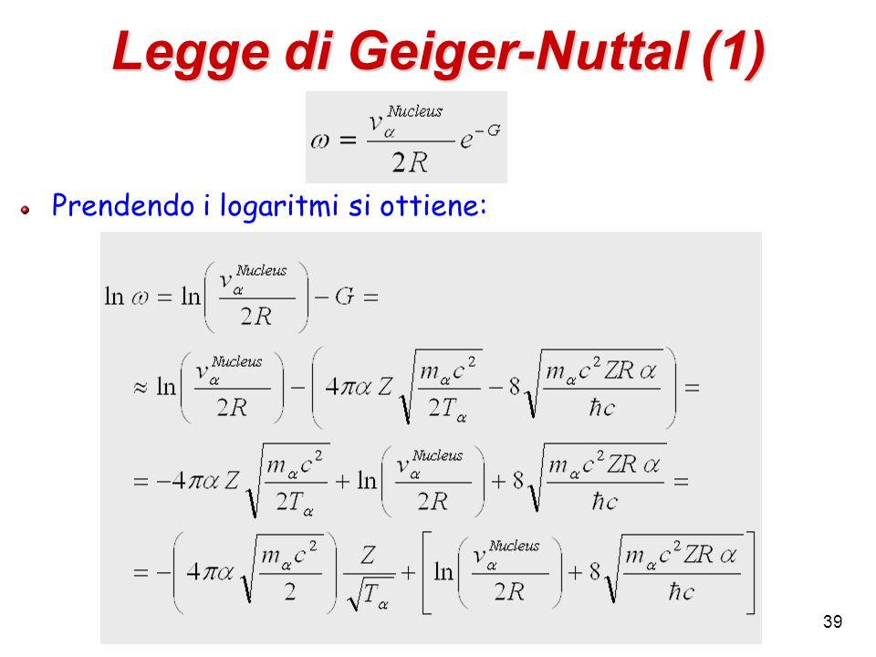 Legge di Geiger-Nuttal (1)