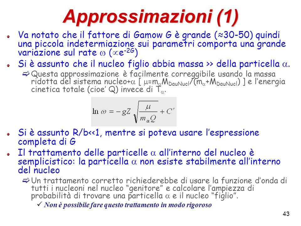 Approssimazioni (1)