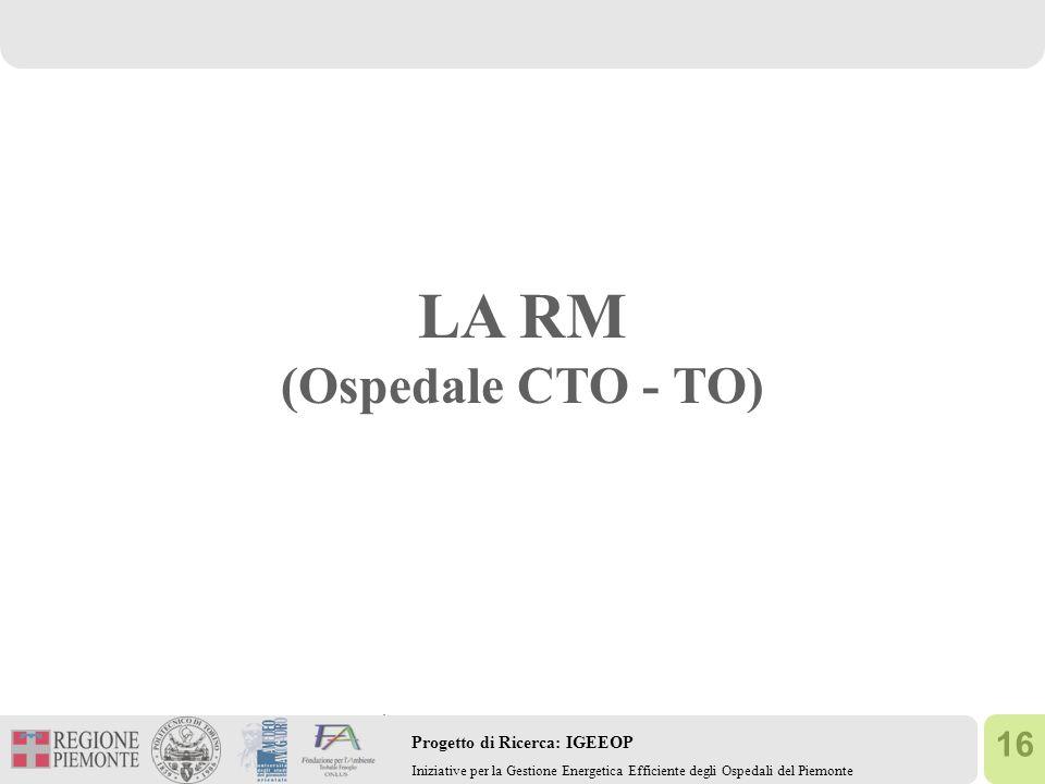 LA RM (Ospedale CTO - TO)