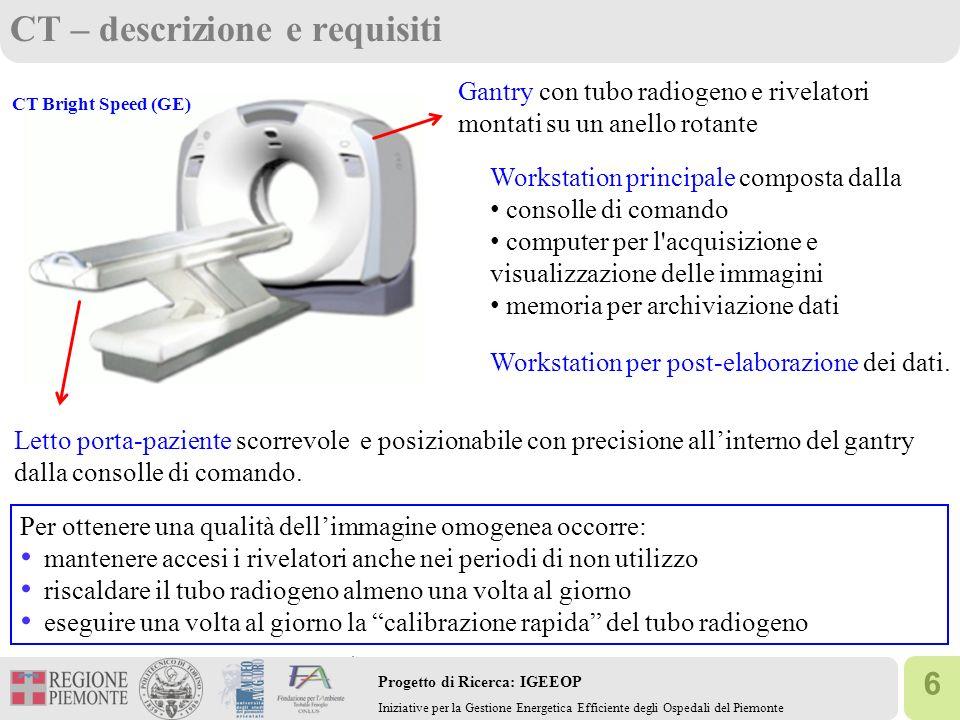 CT – descrizione e requisiti