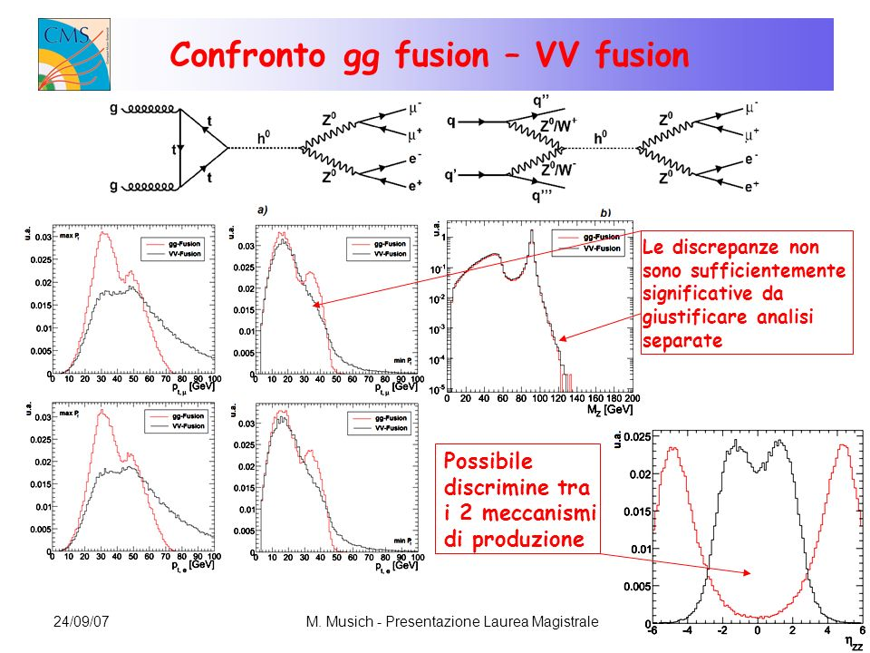 Confronto gg fusion – VV fusion