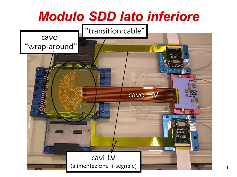Modulo SDD lato inferiore