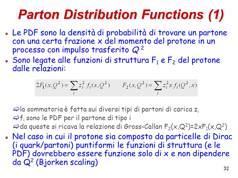 Parton Distribution Functions (1)