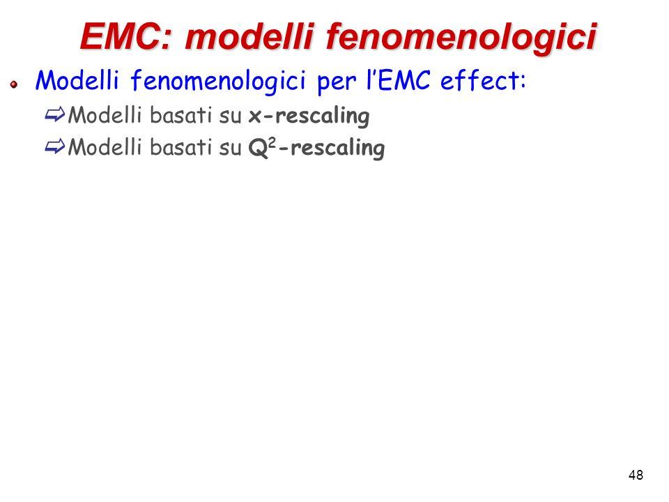 EMC: modelli fenomenologici