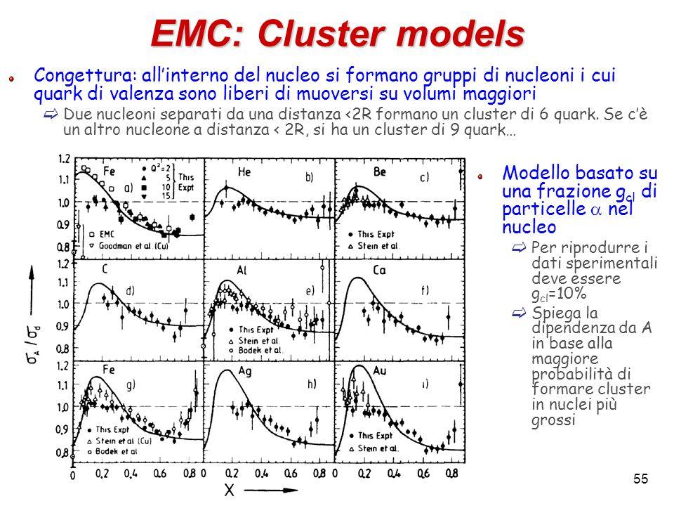 EMC: Cluster models