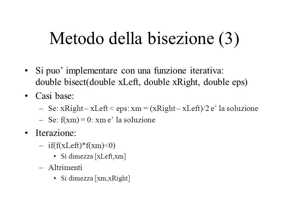 Metodo della bisezione (3)
