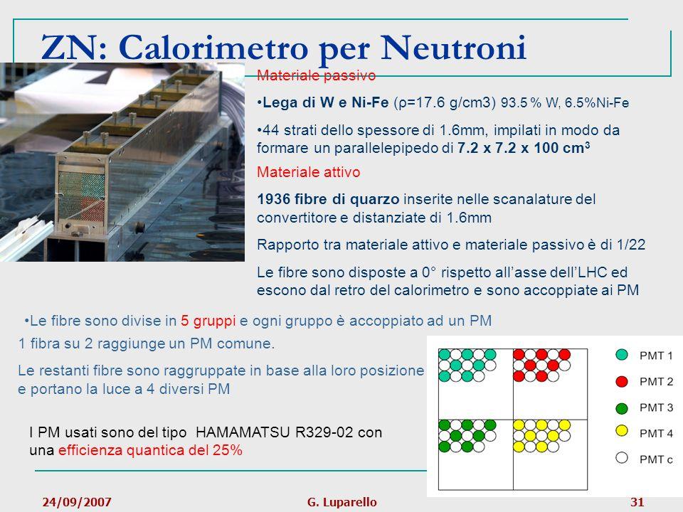 ZN: Calorimetro per Neutroni