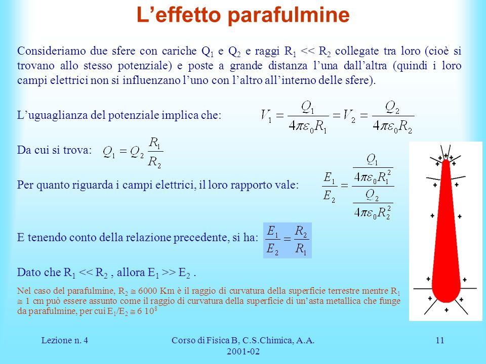 L'effetto parafulmine