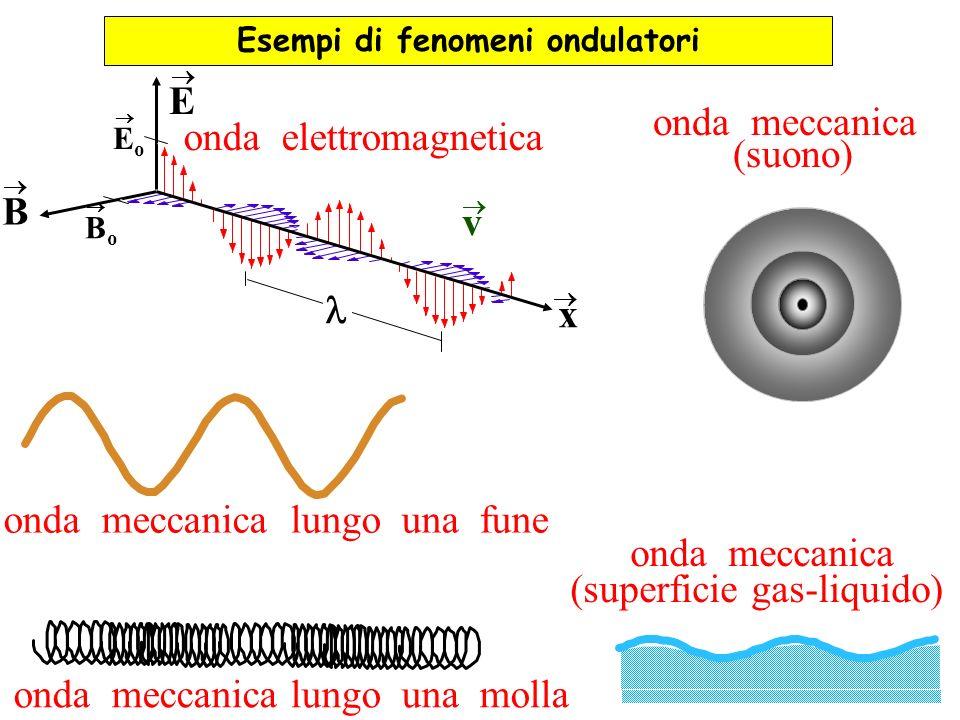 Esempi di fenomeni ondulatori