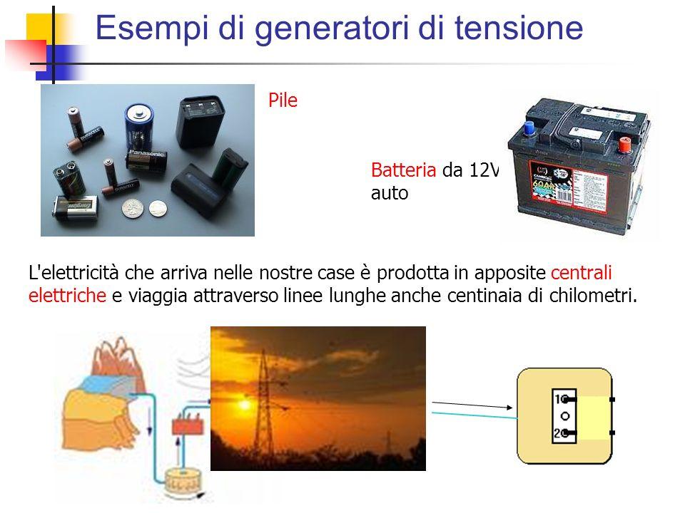 Esempi di generatori di tensione